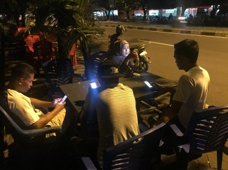 Dinner in public place Ternate