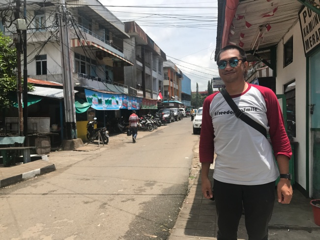 on Merapi Pontianak Street